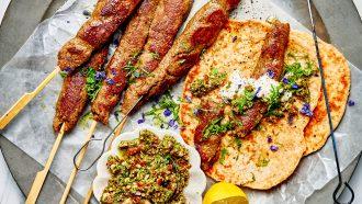 vegetarische kebab
