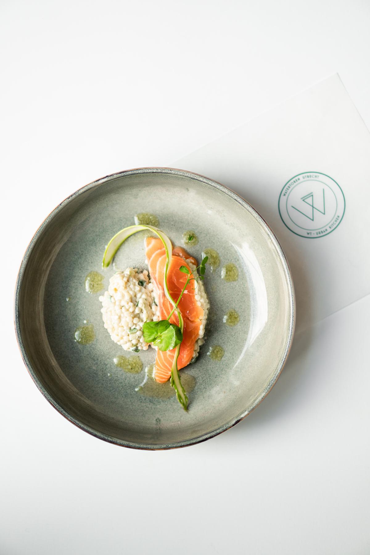 Zalm met couscous