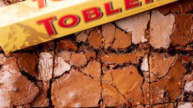 Toblerone brownies recept
