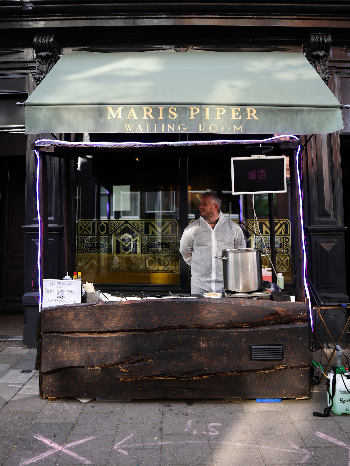 Food court Maris Piper