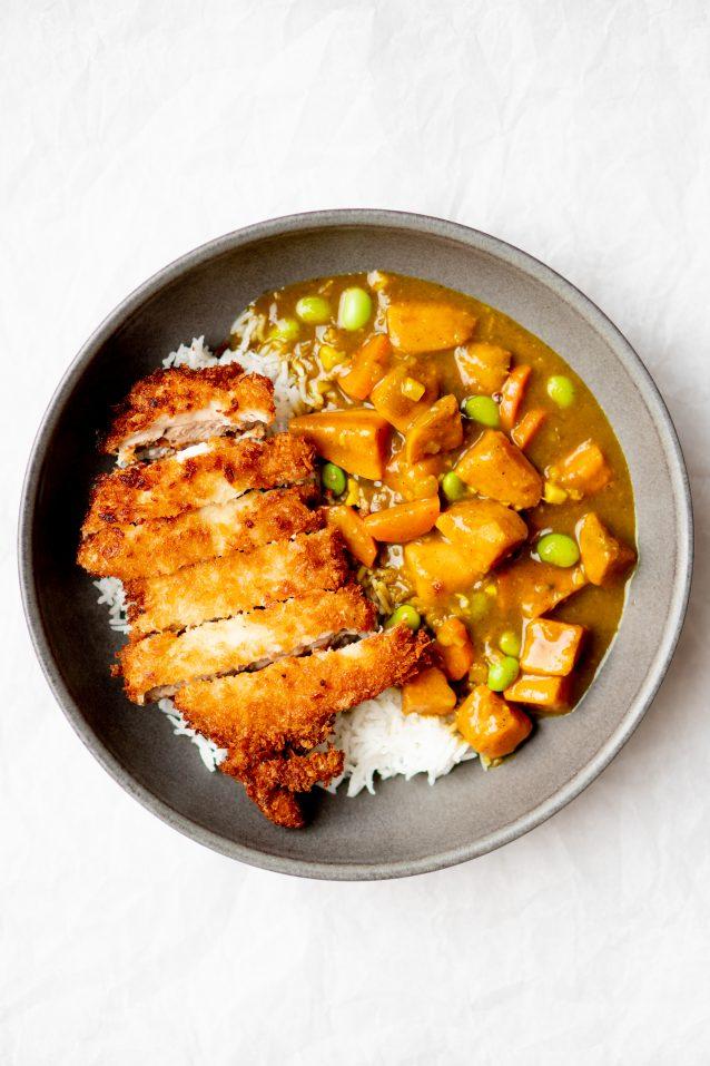Japanse curry: chicken katsu curry