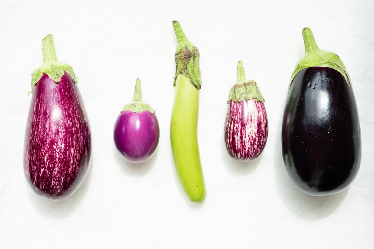 Red de aubergines
