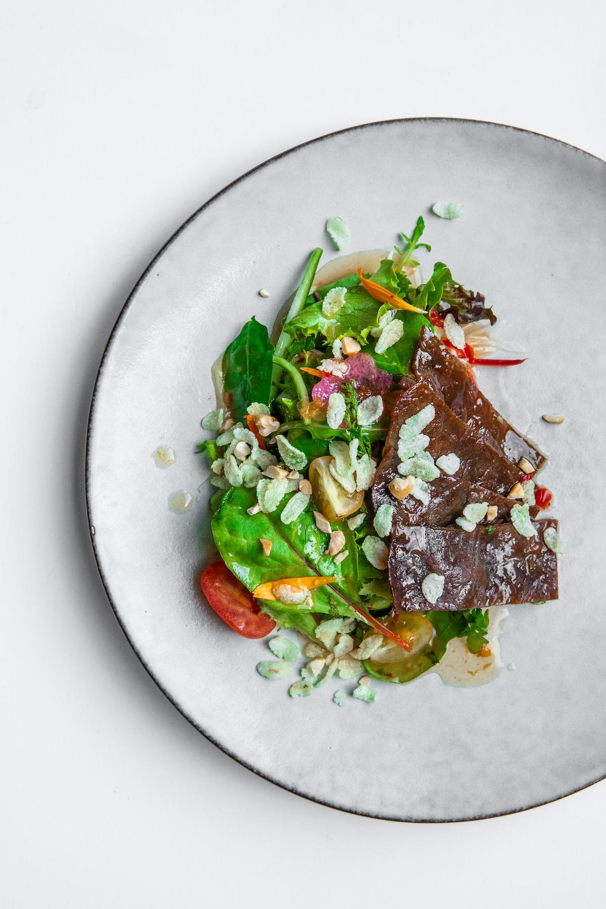 Thai beef salad van O&O