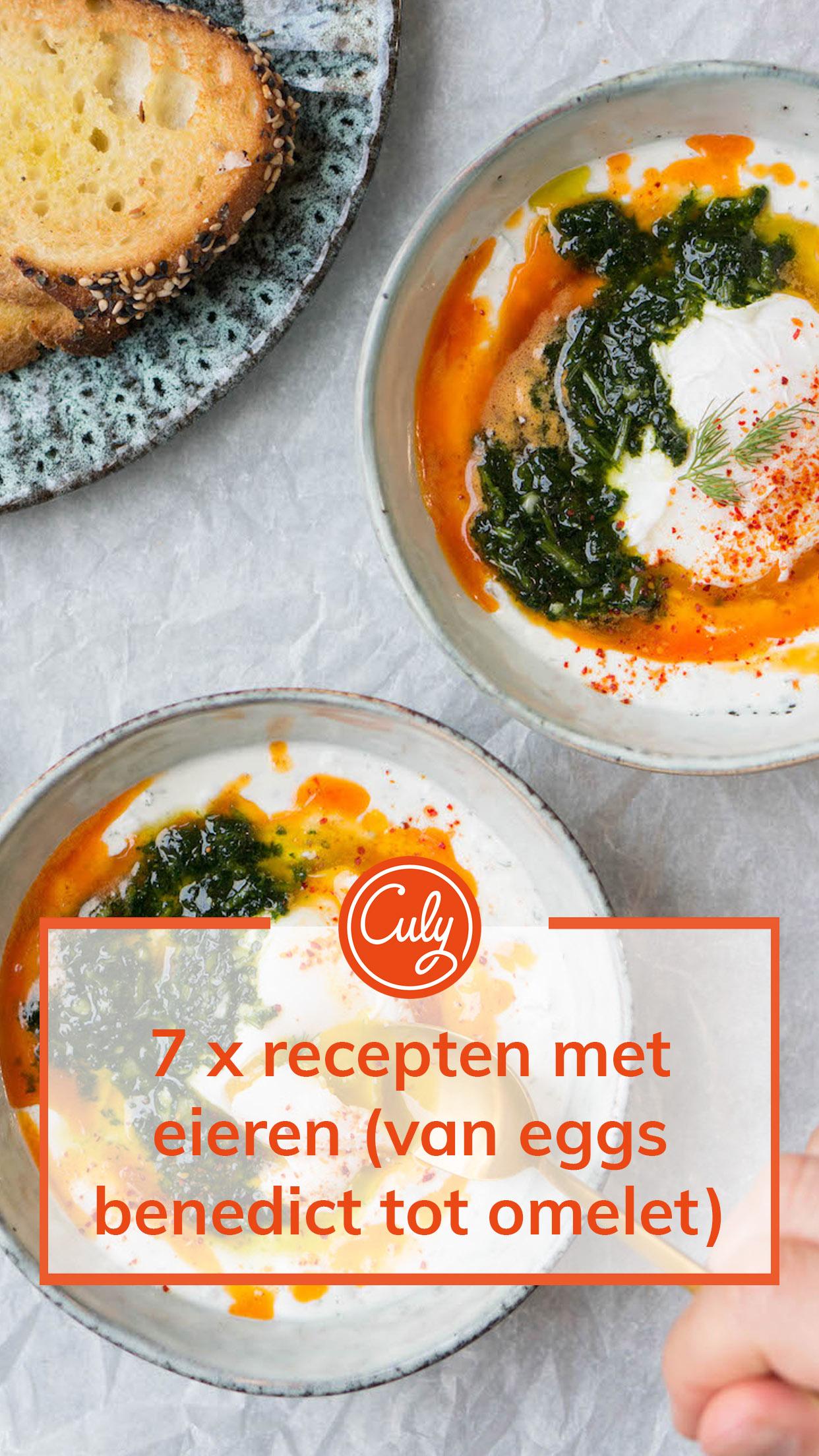 recepten met eieren beeld voor pinterest
