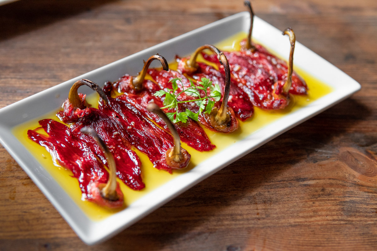 Piquillo peppers bij Sagardi