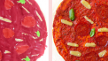 pizza salami van cas