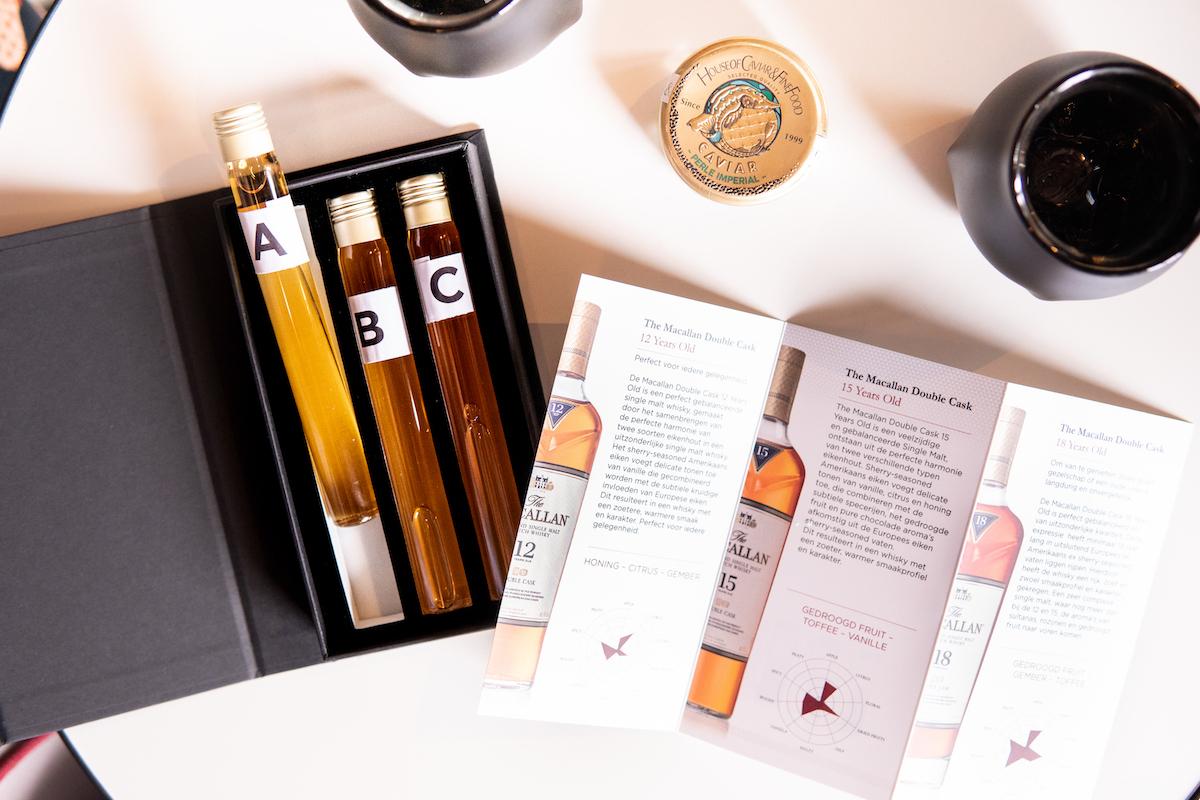 Food & whisky pairing met The Macallan