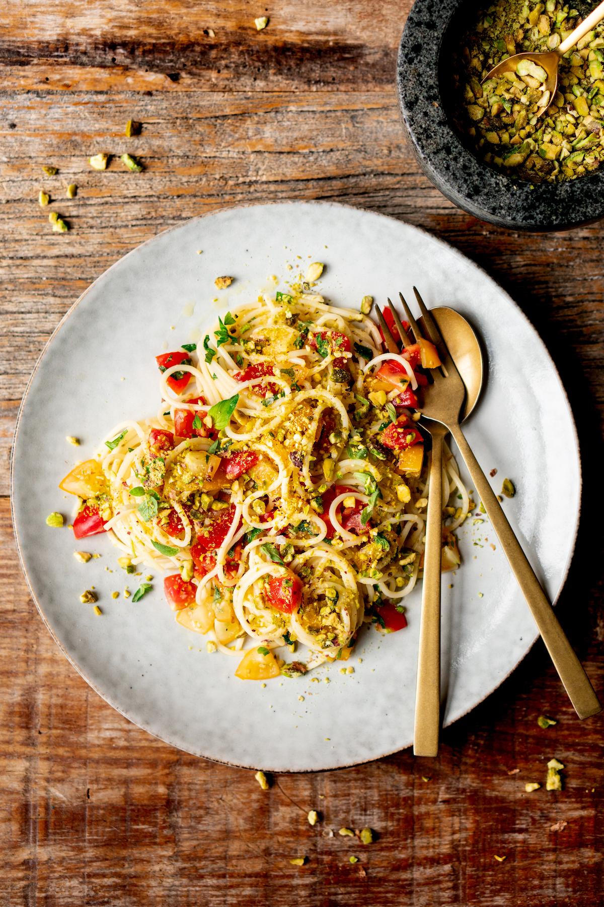 Zomer pasta recept