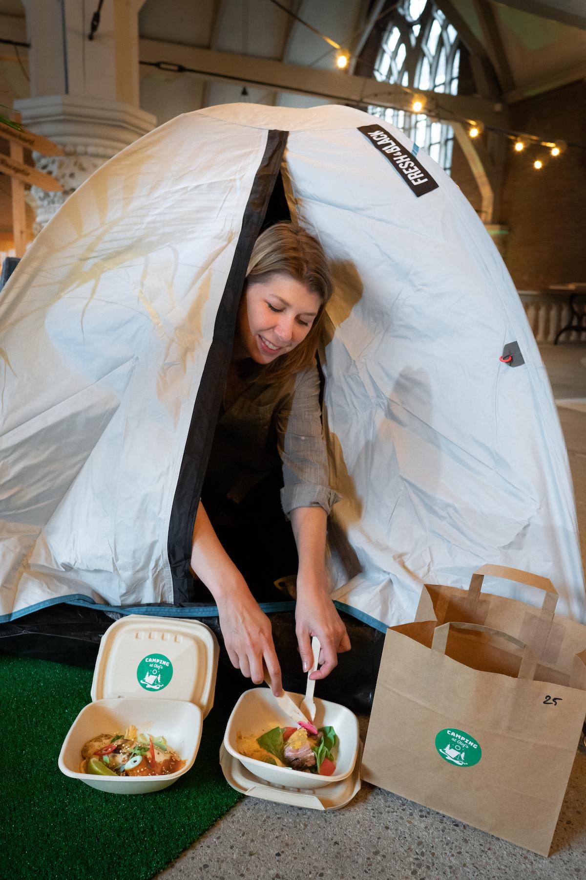 Camping at Olof's
