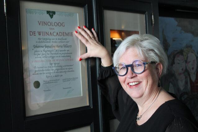 Vinologe Annaline Doelen