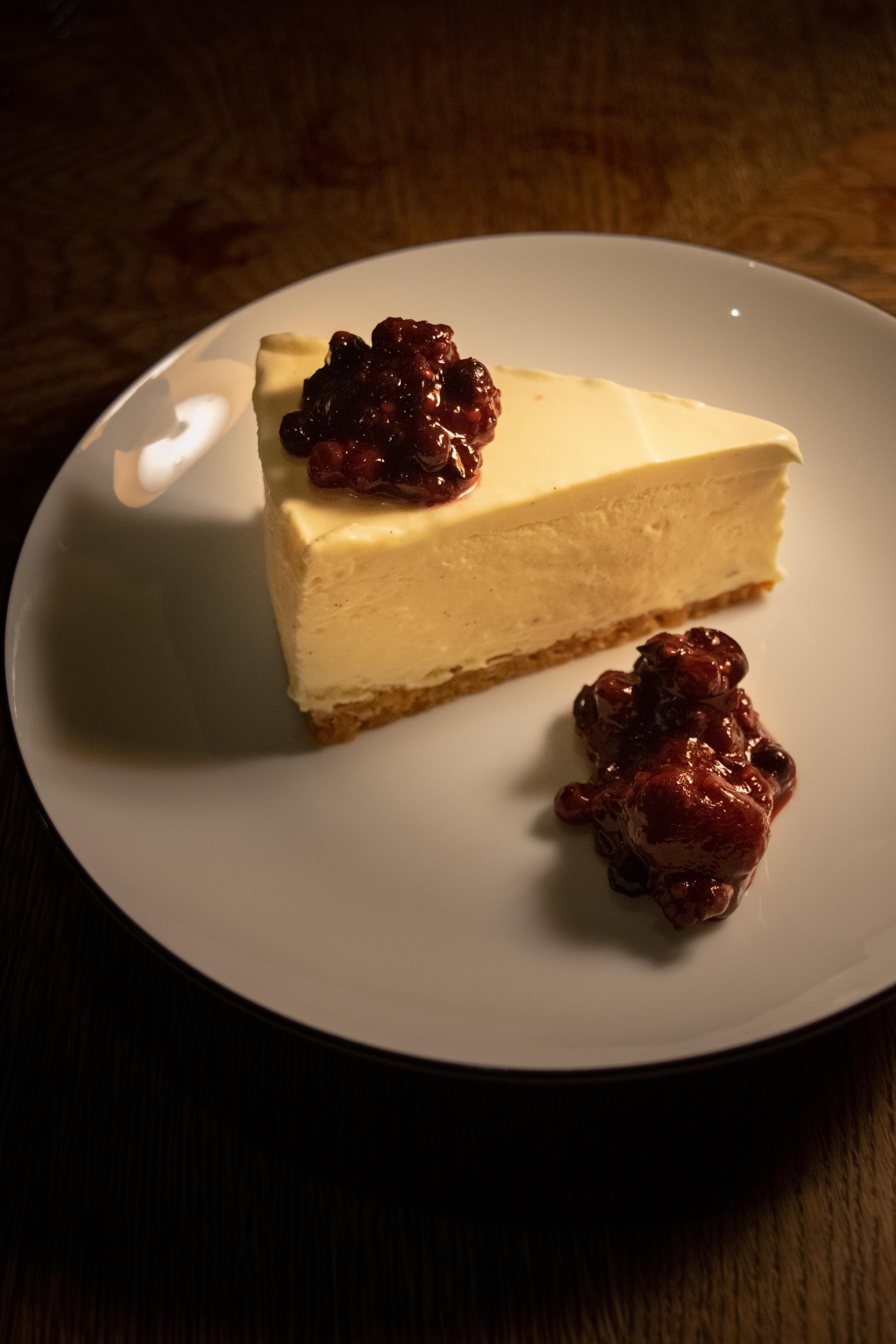 Cheese cake bij Celia