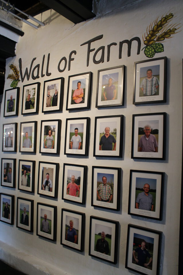 Wall of Farm Gulpener